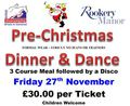 Pre-Christmas Dinner & Dance