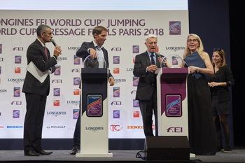 Crucial starting positions decided for Michael & Robert Whitaker at the FEI World Cup™ Finals in Paris