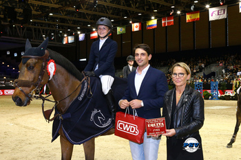 12 year-old Claudia Moore 2nd in Lyon Pony Grand Prix