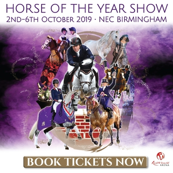 Tickets now on sale for Horse of the Year Show 2019