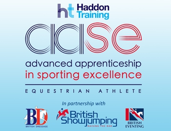 Haddon Training Advanced Apprenticeship in Sporting Excellence; Equestrian Athlete 2020 (AASE 2020)