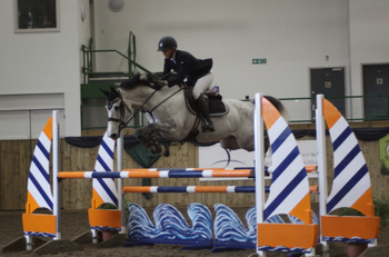 Annabel Shields is Crowned Winner of the SEIB Winter Novice Qualifier at Bishop Burton College