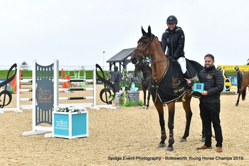Antonia and Laura Triumph in Young Horse Qualifiers