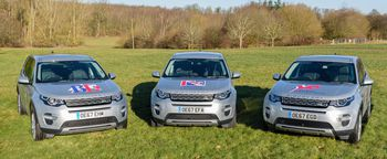 LAND ROVER BECOMES OFFICIAL VEHICLE SUPPLIER TO BRITISH DRESSAGE, BRITISH EVENTING AND BRITISH SHOWJUMPING