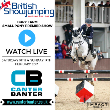 Live Streaming from the Bury Farm Equestrian Village Small Pony Premier Show