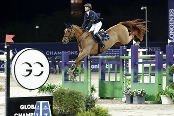 Ben Maher & Explosion W finish 2nd in LGCT Doha Grand Prix by narrow margin