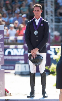 Ben Maher & Explosion W win Individual Silver