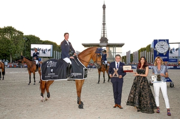 Ben Maher scores a hat-trick with spectacular 3rd LGCT win in Paris