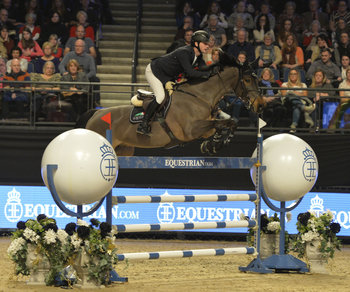 BILLY TWOMEY RACES TO GRAND PRIX GLORY FOR SECOND SUCCESSIVE YEAR AT THE EQUESTRIAN.COM LIVERPOOL INTERNATIONAL HORSE SHOW