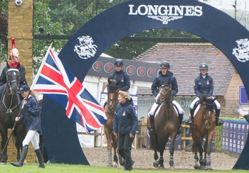 British Showjumping's Team NAF finish 2nd in hard fought Nations Cup at Hickstead