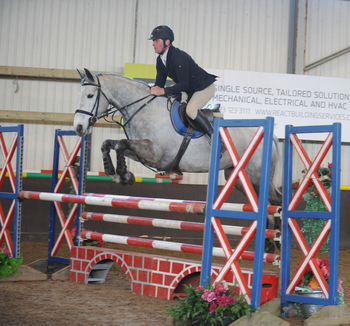 Worcestershire's Bryan Smith secures a SEIB Winter Novice Qualifier win at Solihull Riding Club