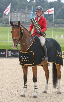 Holly Johnstone dominates the podium in the NAF Five Star Winter Bronze League Championship