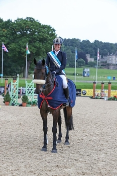 Clea Phillipps wins the National Senior Rider Championship