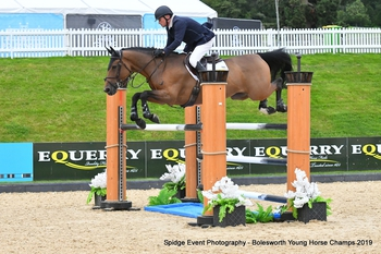 Keith Secures Win at Equitop Bolesworth Young Horse Championships