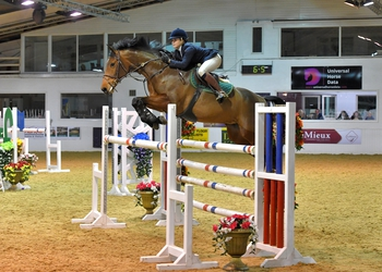 Chantelle Duggan claims The Champagne Cave Winter Grades B & C Qualifier at Arena UK