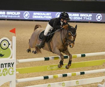 "CHARLIE REFLECTS ON ""AMAZING"" WINNING FEELING AT THE  EQUESTRIAN.COM  LIVERPOOL INTERNATIONAL HORSE SHOW"