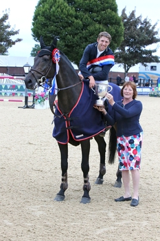 Joe Clayton is crowned the new British Showjumping National Champion