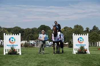 Robert Smith wins The Bunn Leisure Trophy at Hickstead