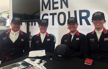 British Showjumping's Team NAF finish 2nd on the Nations Cup League following Drammen