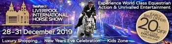EARLY BIRD OFFER FOR LIVERPOOL INTERNATIONAL HORSE SHOW
