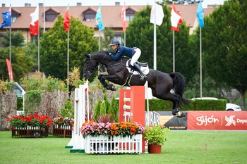 Second place finish for the Brits at the CSIO5* Nations Cup of Gijon