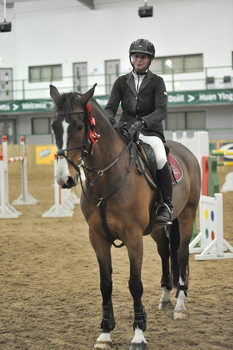 Emma-Jo Slater storms to victory in the SEIB Winter Novice Qualifier at Hartpury College