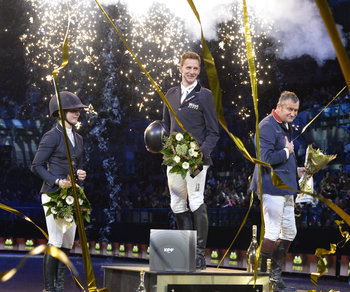 FELIX HASSMANN ACCELERATES TO VICTORY AT  EQUESTRIAN.COM LIVERPOOL INTERNATIONAL HORSE SHOW