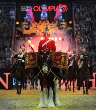 THE MUSICAL RIDE OF THE HOUSEHOLD CAVALRY CONFIRMED TO PERFORM AT THE 2019 EDITION OF OLYMPIA, THE LONDON INTERNATIONAL HORSE SHOW