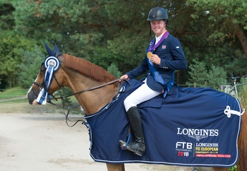 Harry Charles is the new Young Rider European Champion