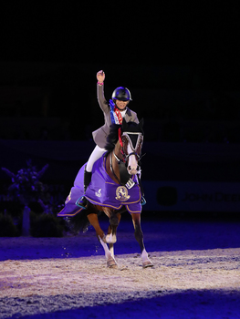 Scottish teenager Shaunie Greig crowned the Leading Pony Showjumper of the Year