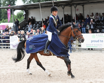 Claudia Moore wins Individual Bronze at the Pony European Championships