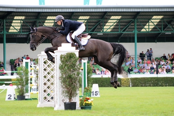 James Wilson triumphs in the International Stairway at the Great Yorkshire Show