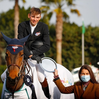Joe Stockdale 2nd in Sunshine Tour CSI4* Andulucia Big Tour Grand Prix