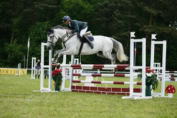 Jonathan Egmore wins the KBIS Insurance Senior British Novice Second Round at Houghton International Horse Trials