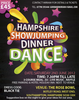 Dinner Dance in Hampshire
