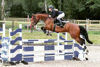 Katie Vaughan claims top spot in the KBIS Insurance Senior British Novice Second Round at Felbridge Showjumping Club