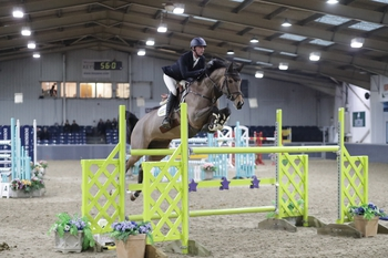Phillip Miller takes the Winter Grand Prix title at The College Equestrian Centre, Keysoe