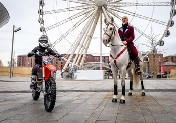 Excitement Builds for a Horse Powered TheraPlate UK Liverpool International Horse Show