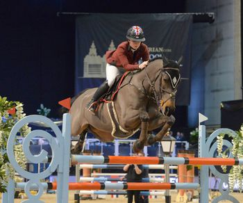 SAYWELL SPEEDS TO VICTORY AT THE EQUESTRIAN.COM LIVERPOOL INTERNATIONAL HORSE SHOW