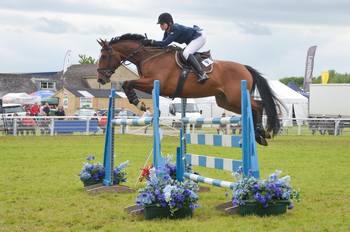Emma Slater Jumps to Victory in the Speedi-Beet HOYS Grade C Qualifier at Royal Bath & West Show