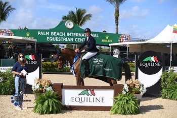 GB's Matthew Sampson Claim Top Honors in $50,000 Equiline Holiday Finale Grand Prix whilst Jessica Mendoza takes 2nd