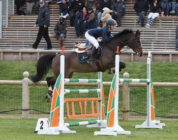 MILLIE ALLEN WIN GRAND PRIX & GBR SECOND IN NATIONS CUP FONTAINEBLEAU