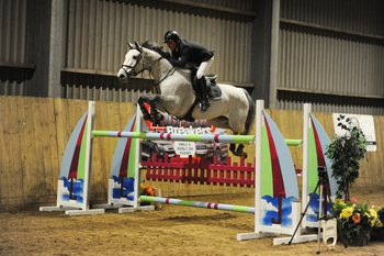 Jamie Wingrove triumphs in the Winter Grand Prix at Onley Grounds Equestrian Centre