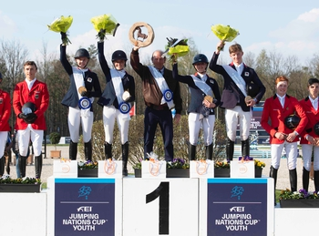 Team NAF win Junior Nations Cup in Opglabbeek, Belgium this afternoon