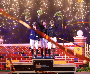 Trio Hit the Heights in Liverpool Puissance Thriller