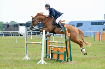 Rhys Jones scores a win in the Nupafeed Supplements Senior Discovery Second Round at Aintree International Equestrian Centre