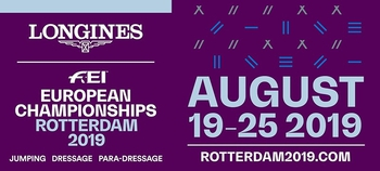 Ticket sales for the Longines FEI European Championships Rotterdam 2019 start today