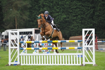 Suffolk's Sam Ward wins the British Horse Feeds Speedi-Beet HOYS Grade C Qualifier at the South of England Show