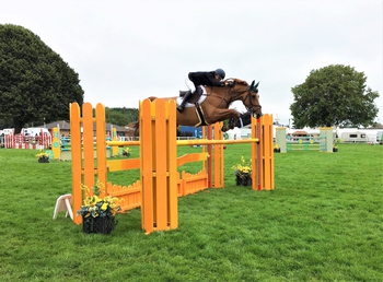 Sam Ward clinches the British Horse Feeds Speedi-Beet HOYS Grade C Qualifier at The Royal Norfolk Show