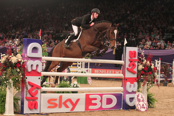 OLYMPIC GOLD MEDALLIST SCOTT BRASH TO COMPETE AT HORSE OF THE YEAR SHOW 2012